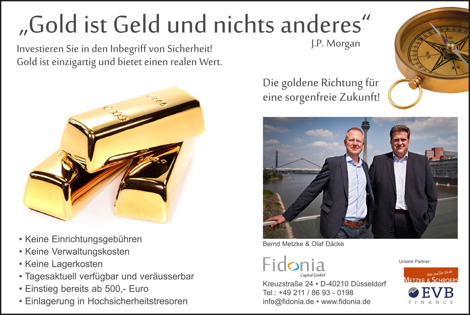 """""""Gold ist Geld und nichts anderes!"""""""